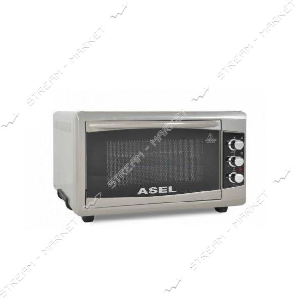 Духовка Asel 1300 Вт 50 л таймер цвет серый