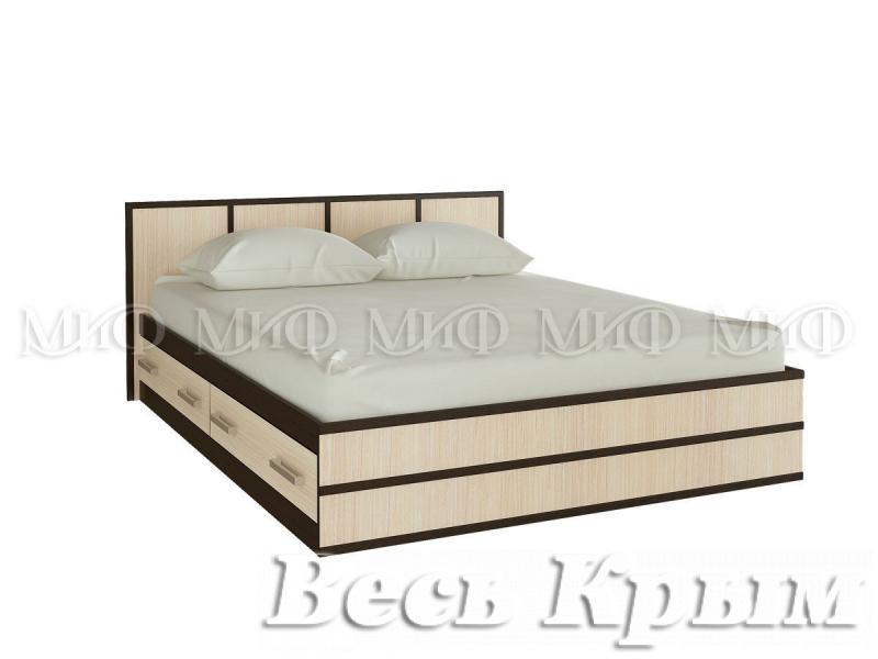 """МИФ - Спальня """"Сакура"""" Кровать 140 Кровати для спален в Крыму"""