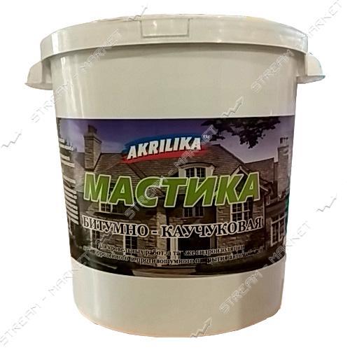 Мастика АКРИЛИКА битумно-каучуковая 10 кг