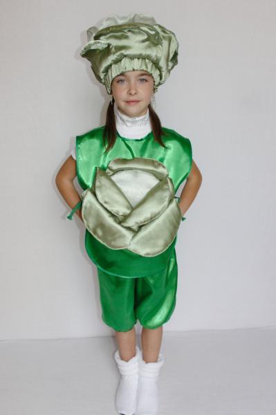 Карнавальный костюм Капуста №1