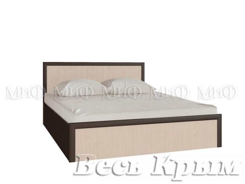"""МИФ - Спальня """"МОДЕРН"""" Кровать 140 Кровати для спален в Крыму"""