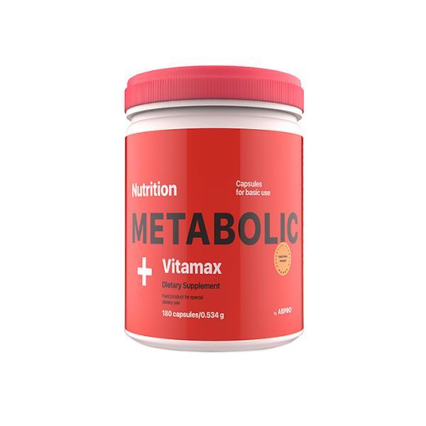Витамины AB PRO Metabolic Vitamax 180 капсул