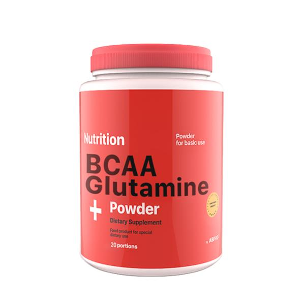 Аминокислота AB PRO ВСАА + Glutamine Powder 236 г Клубника (004)