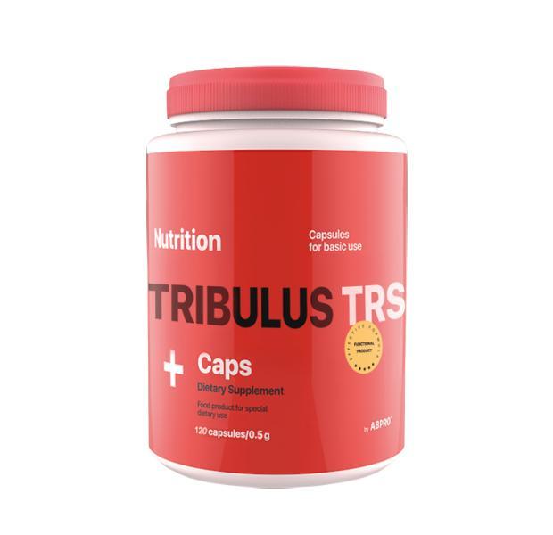 Тестостероновый бустер AB PRO Tribulus TRS caps 120 капсул