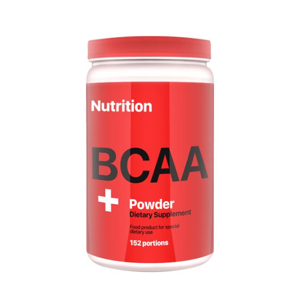 Аминокислота AB PRO BCAA Powder 900 г Клубника (027)