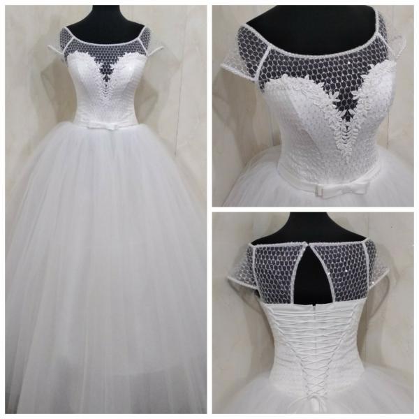 Пышное свадебное платье Тереза пачка