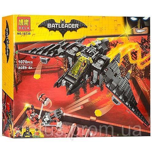 10739 Конструктор Bela 10739 Batman Бэтмолёт 1070 деталей