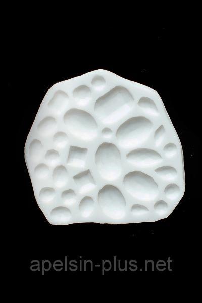 """Молд силиконовый для декора """"Драгоценные камни"""" 10,0 см 9,0 см"""