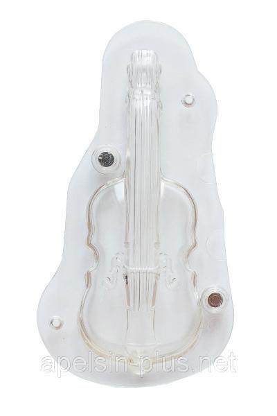 Поликарбонатная форма для шоколада Скрипка 3D