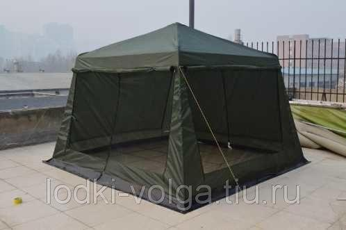 Палатка Тент CoolWalk (320*320*H-245см) 1628 D/3200 крепление металл