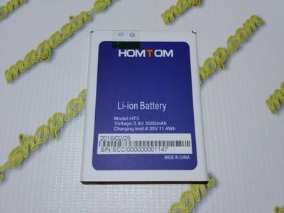 Оригинальный аккумулятор для Homtom HT3, HT3 Pro, Ergo A500 Best