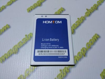 Оригинальный аккумулятор для Homtom HT16, HT16 Pro, Ergo A503 Optima