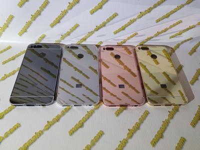 Алюминиевый чехол бампер для Xiaomi Mi 5x, Mi A1 (зеркальный)
