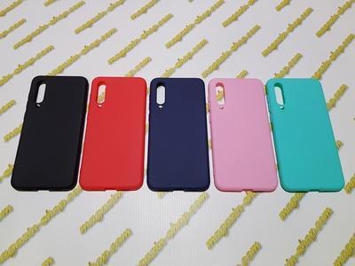 Цветной силиконовый чехол для Xiaomi Mi 9 SE