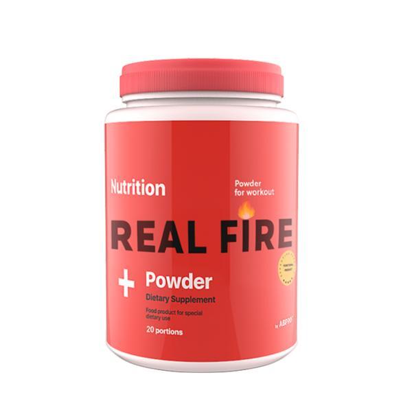 Предтренировочный комплекс AB PRO Real Fire 20 порций  Апельсин (022)