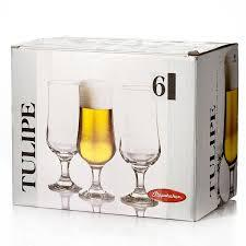 TULIPE Бокал для пива, 370 мл (h=180мм,d=65х68мм) 44169