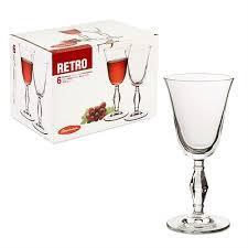 RETRO Бокал для вина, 236 мл (h=184мм,d=86х80мм) 440060