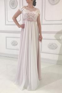 Фото Свадебные платья Свадебное платье для беременных в стиле ампир Люси