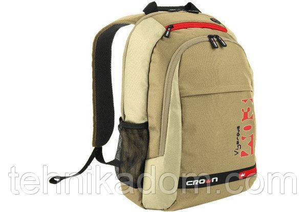 Рюкзак для ноутбука Crown Vigorous Series 15,6' BPV315W white