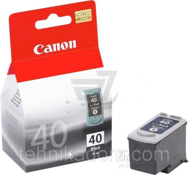 Картридж Canon PG-40Bk (0615B025)