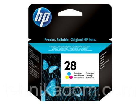 Картридж CW HP C8728AE (№28XL) col. CW-H28XL-I (ink level)