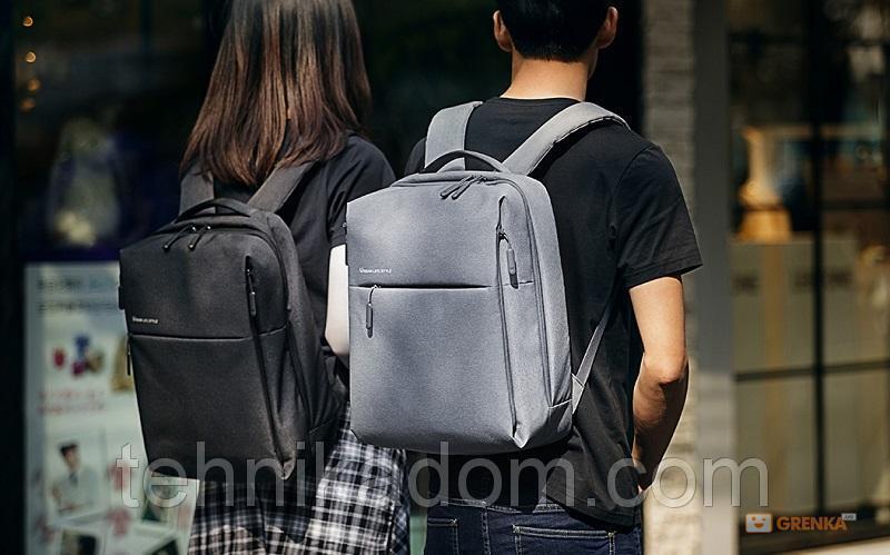 Рюкзак для ноутбука Xiaomi Minimalist Urban 15.6'' Light Gray