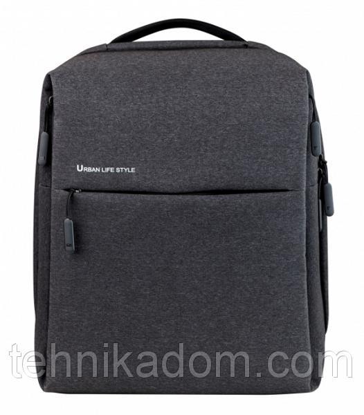 Рюкзак для ноутбука Xiaomi Minimalist Urban 15.6'' Backpack Gray