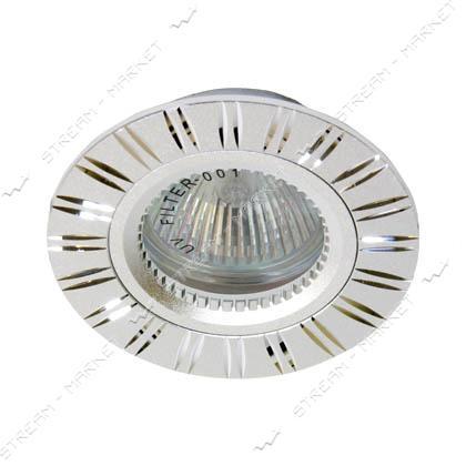 Cветильник точечный FERON GS-M393 MR16 серебро