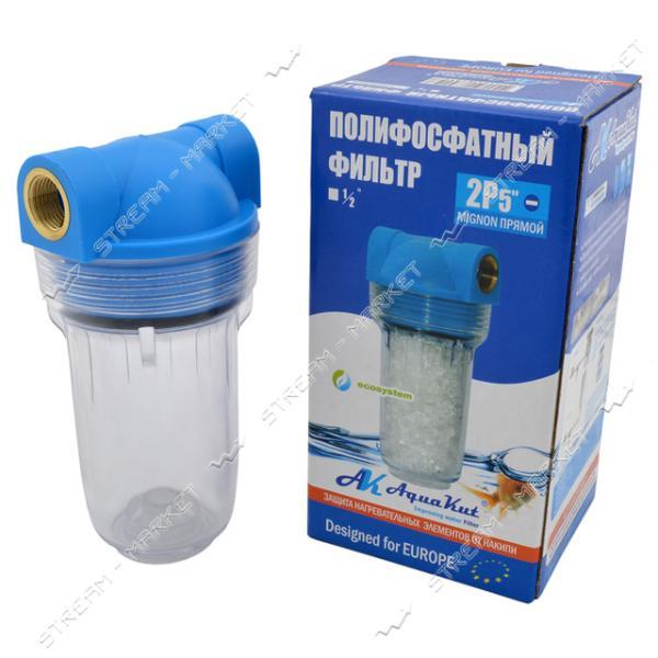 Фильтр солевой AQUAKUT для котла на два выхода