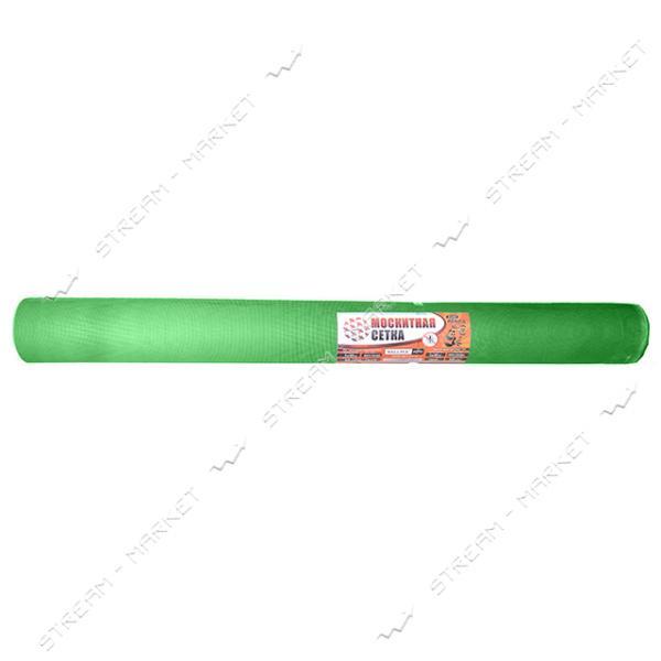 Сетка москитная штампованная Капрон 1.2х30м зеленая