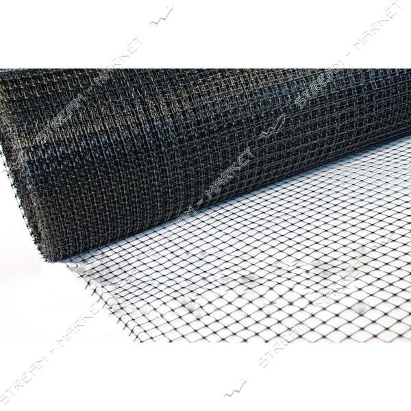 Сетка Клевер Птичка ячейка 30х35 мм 1х50 м пластиковая черная