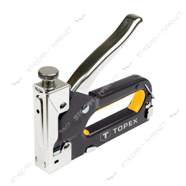 Степлер с регулятором для скоб 4-14мм (стальной)