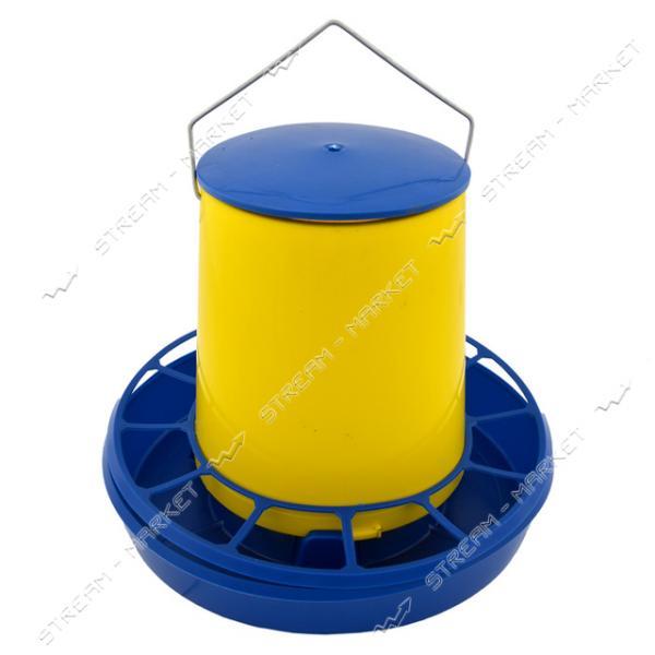 Кормушка пластиковая Бункер 5 л