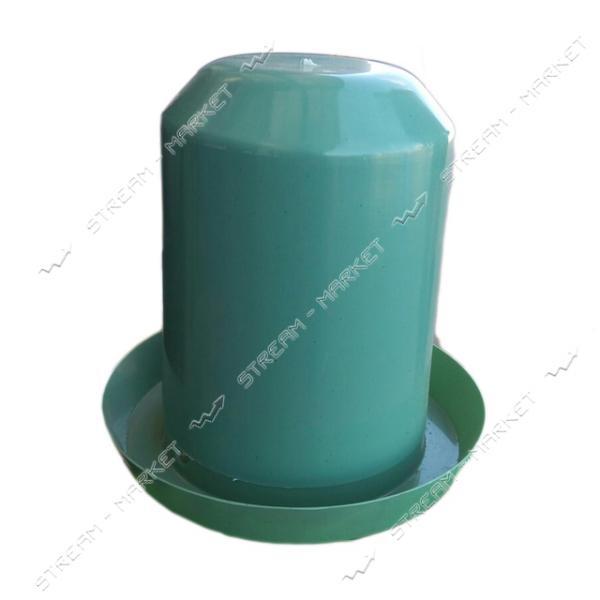 Поилка Бункер пластиковая 8 л цветная
