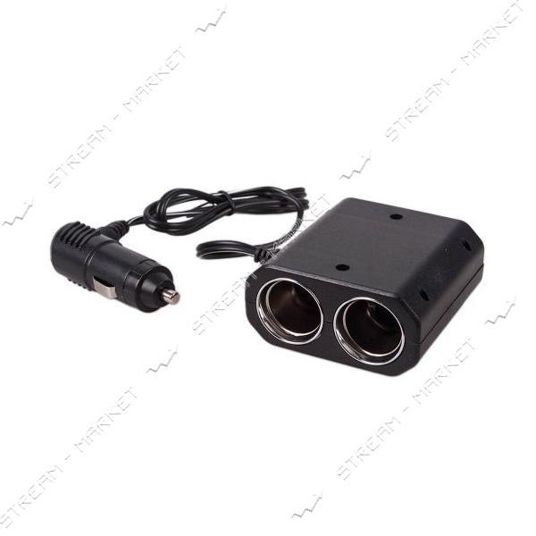 Разветвитель прикуривателя PULSO SC-3031 3 выхода плюс 2 USB 1000 mA 12/24 V