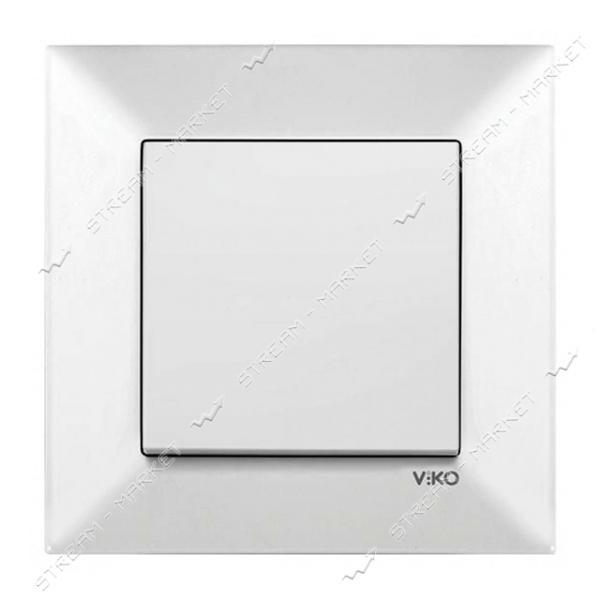 Выключатель VIKO 0001 MERIDIAN белый