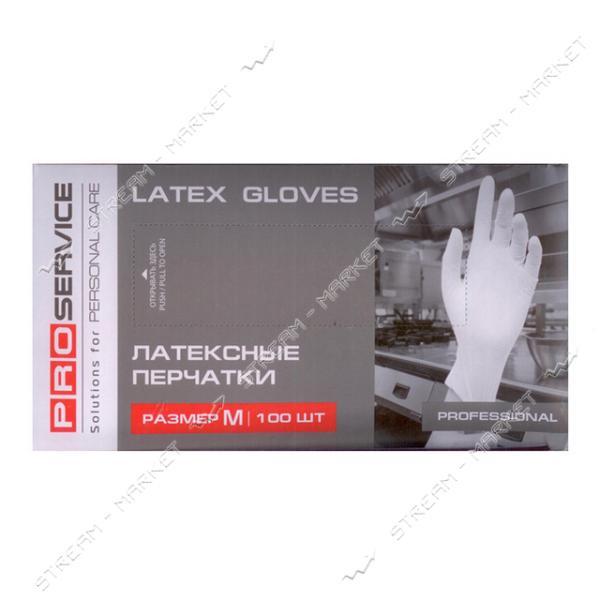 Pro Service Перчатки латексные Professional М 100шт