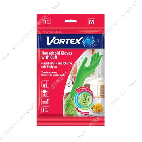 VORTEX Перчатки Vortex хозяйственные с удлиненными манжетами M