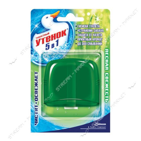 Подвесной блок сменный для унитаза Туалетный Утенок Лесная свежесть 55мл