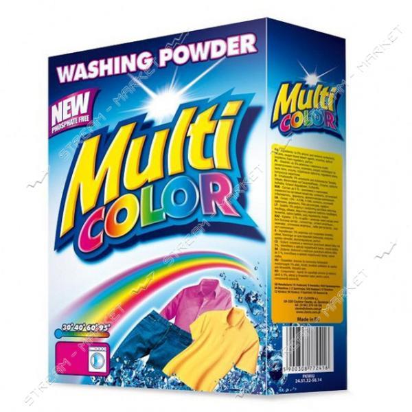 Стиральный порошок для цветного белья автомат Multicolor 400г