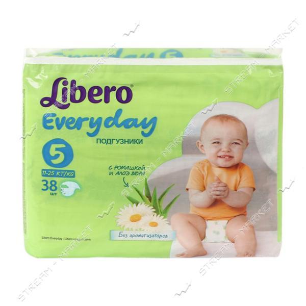 Подгузники детские Libero Everyday XL 11-25 кг 38 шт