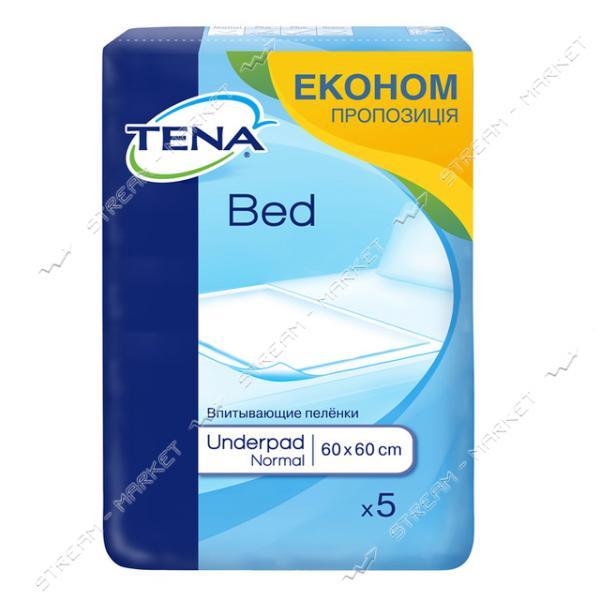 Пеленки одноразовые Tena Normal 60х60 см 5 шт