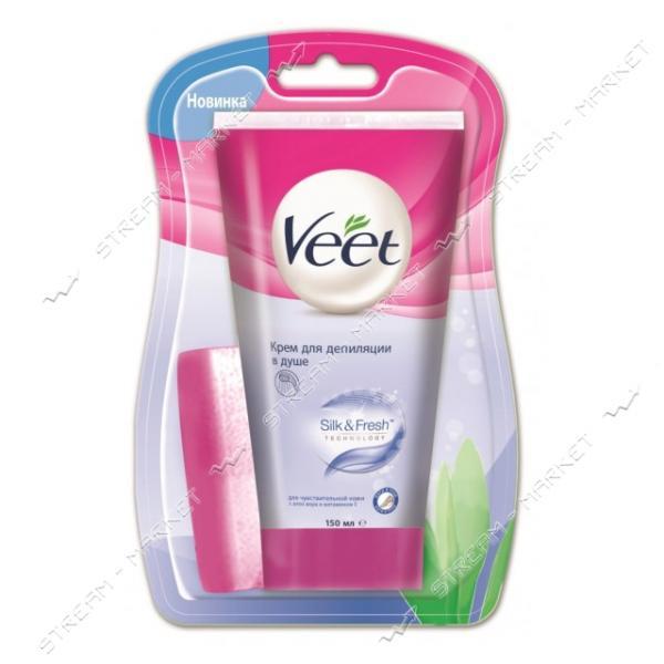 Крем для депиляции в душе Veet для чувствительной кожи 150 мл