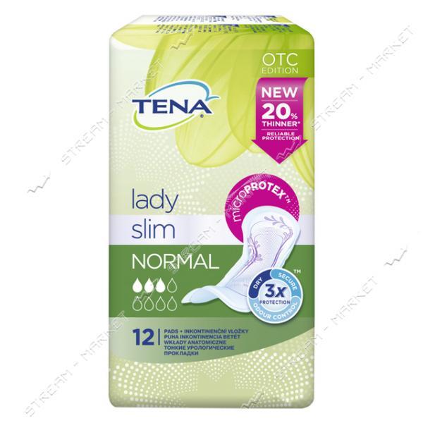 Tena Lady Прокладки Урологические Slim Normal 12шт
