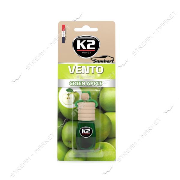 Ароматизатор К2 VENTO GREEN APPLE 8 мл