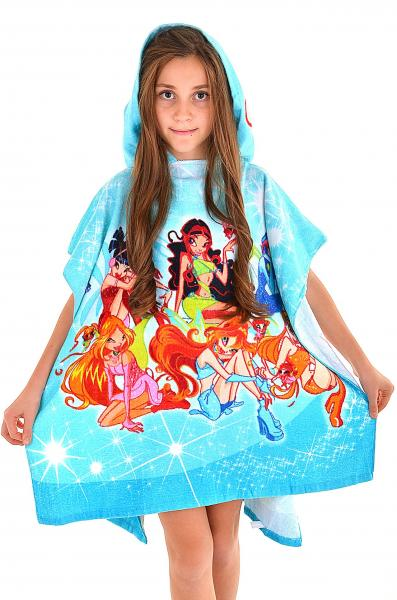 Детские полотенце с капюшоном Ora Winks One Size Голубой Ora Winks