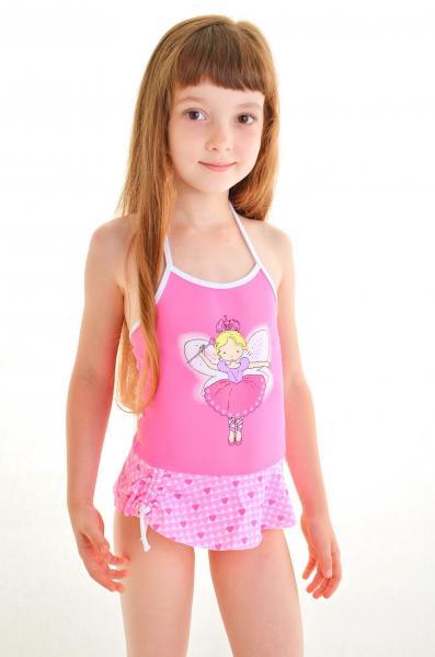 Купальник для маленькой девочки Keyzi Princesa R 98 Розовый Keyzi Princesa R