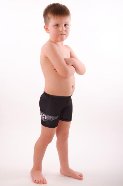 Черные детские плавки боксерки Viva Viktoriya 0447 104 Черный Viva Viktoriya 0447
