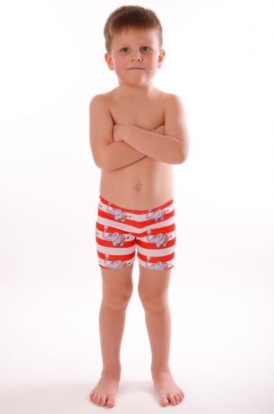 Плавки боксерки для мальчика Viva Viktoriya 0130 128 Полосатый Viva Viktoriya 0130