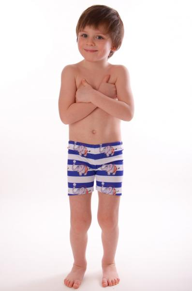 Пляжные боксерки для мальчиков Viva Viktoriya 0131 128 Полосатый Viva Viktoriya 0131